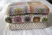 Hooks and needles / Crochet, knitting