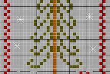 Σταυροβελονια χριστουγεννα