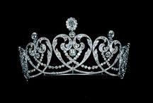 tiaras, diademas y coronas
