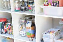 Craft Supply Organization & Storage / by Vicki Megenity Jones ☮ ♥ ☮ ♥ ☮☮ ♥ ☮ ♥ ☮☮ ♥ ☮ ♥ ☮☮ ♥ ☮ ♥ ☮