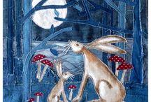 Star Gazie Hares