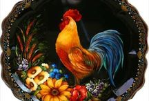 ROOSTERS ~ HENS ~ CHICKENS / by Bobbie Gilland