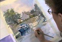 Watercolor, oil,acrylic,color pencil, chalk / by Nancy K Compton