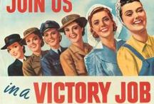 WWI & WWII Posters & Pictures / by Tommy W