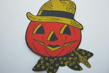 Halloween for sale / Invest in vintage fall and Halloween decorations.  They bring back memories of your childhood.