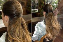 penteados de festa