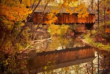 Covered Bridges:-) / by Janie Hansard