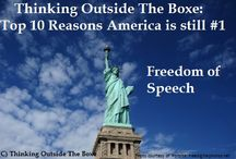 Reasons America IS #1 in the World / From thinkingoutsidetheboxe.com