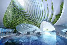 architektura futuristická