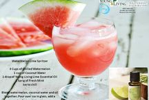 Drinks & Young Living Essential Oils