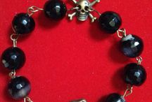 Bracelet natural stone / Limited design, handmade by me