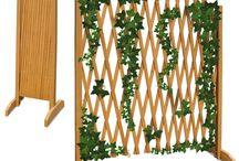 Wooden Garden Fence Panels Fencing Trellis Outdoor Patio Furniture Structure Big