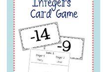 Teaching Math- Integers