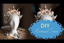 mermaid crown diy