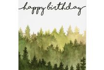 Birthday Cards | Watercolor