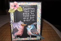 Tim holtz birds & crazy things