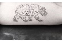 Tattoos - because you can never have just one. Wearable art.