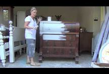 Crafting: DIY Shabby Chic Furniture
