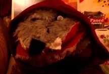Puppets / Our Clovis and Wolfy videos.