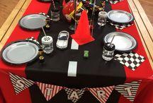 mesa adornada