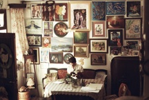 Interior Spaces / Mid-century Modern / Eclectic collector look / Bohemian / by Hui Fang