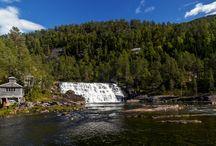 Waterfalls / Various waterfalls in Norway.