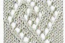 Knitting designs, charts