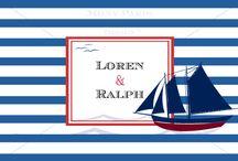 LOREN & RALPH / Tengerész, matróz esküvő