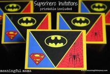 Superhelden Geburtstagsparty