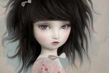Big Eyed Girls / by Amalia Aradea