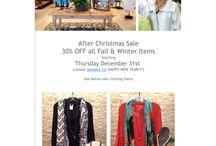 Sale / Fall & Winter Sale
