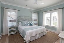 Beach house bedroom  decor