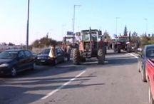 Κλειστή η εθνική οδός Αθηνών - Θεσσαλονίκης - BINTEO