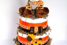 diaper cakes / by CJ Dickerson