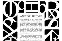 Times New Roman / Classic typography