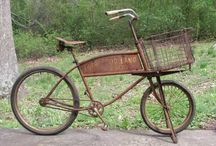 All types of the bikes / BicycleA bicycle, also known as a bike, pushbike or cycle, is a pedal-driven, human-powered, single-track vehicle, having two wheels attached to a frame, one behind the other. A person who rides a bicycle is called a cyclist or a bicyclist.  / by Eliyah Lugashi
