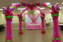 Princess balloon theme