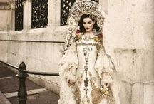 Harper's Bazaar Weddings / The couture gowns and perfect art direction will make you want to cry tears of joy.