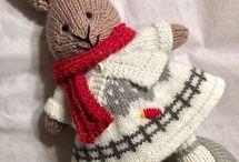Králíček pletený
