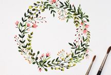 rounded floral