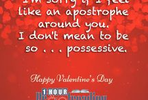GrammaryThoughts Here's another pun-ny #valentine card to brighten up your day! #greetingcards #valentines2017