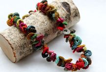 crochet jewelry / by craftysou