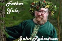 """""""Father Yule For Hire"""" John Rakestraw / It's a calling... Father Yule is my destiny."""