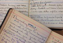 Diarios usados / diarios amados / Sobre art journaling o todo aquello que la gente ponga dentro de sus cuadernos