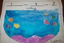 Homeschool: K-1 Math Craft Co-op Ideas / by KC