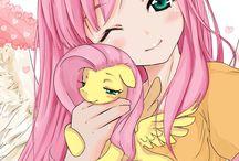 my little pony anime