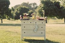 Wedding Food, vintage style / Food and dining ideas for your vintage wedding