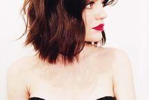 Haare • Frisuren der PROMIS / Prominente und ihre Frisuren, Haarschnitte, Haarstyles, Haaraccessoires, Trendfrisuren