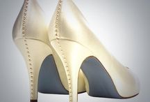 You can never have enough shoes!  / Wedding shoes we want.
