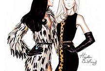 desenhos de moda